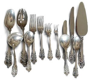 Wallace Sterling Grande Baroque Flatware