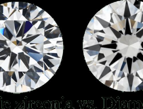 Cubic Zirconia vs. Diamonds